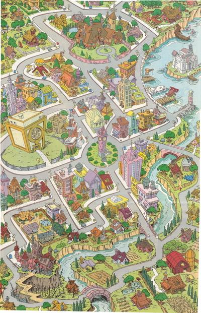 Mapa Káčerova talianska verzia