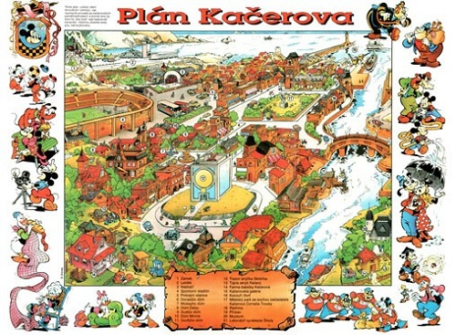 Plagát Káčerova 1996