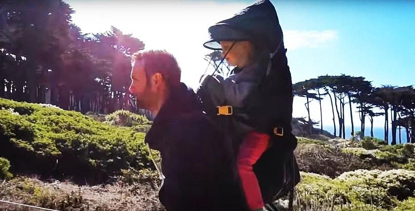 Detský turistický nosič